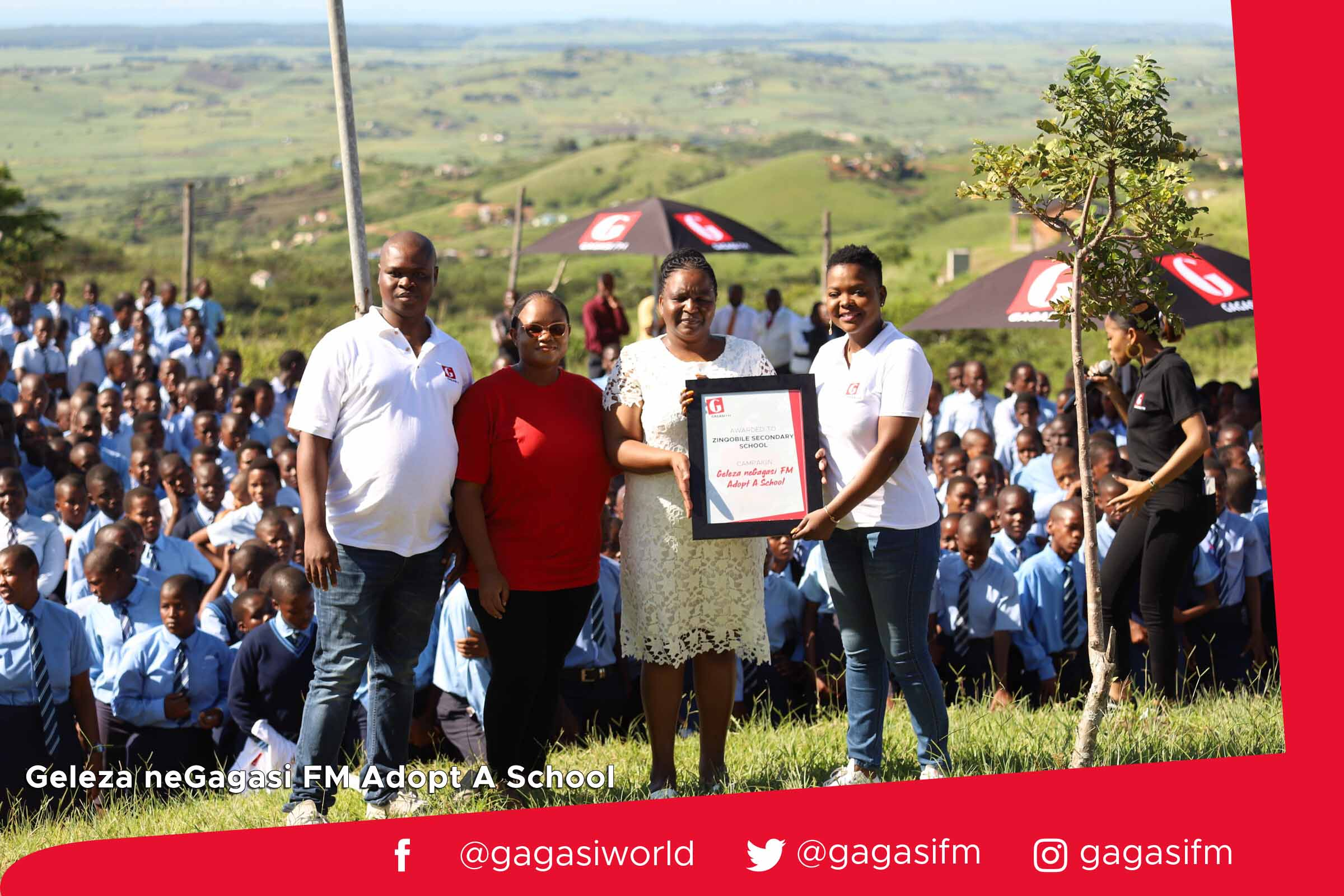 Gagasi FM handing over with CTM.